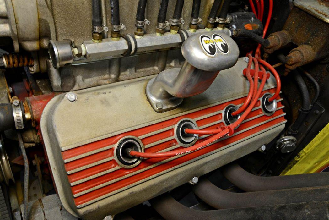 1929 Dodge Coupe Hotrod Hot Rod Rat Ratrod Drag USA -11 wallpaper