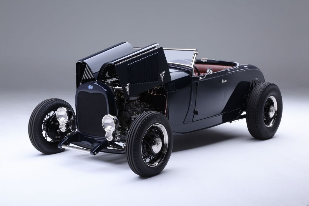 1929 Ford Model-A Roadster Highboy Hotrod Hot Rod Street Rod USA -03 wallpaper