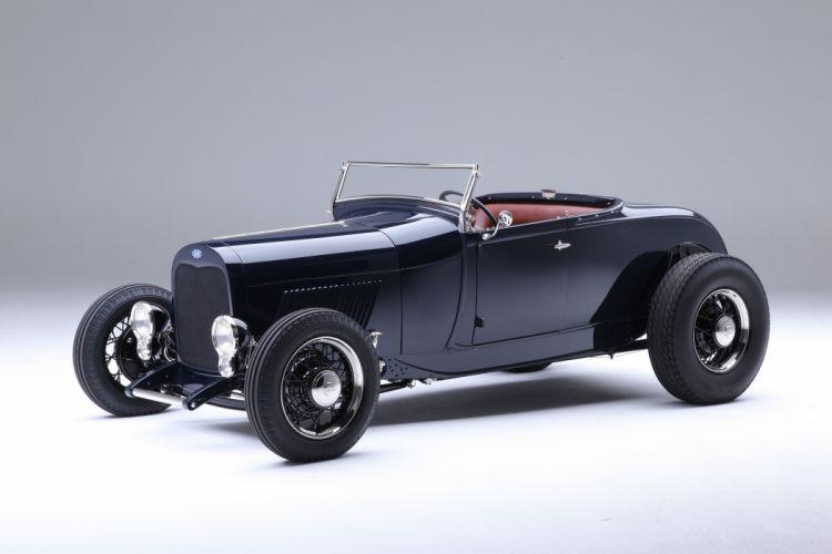 1929 Ford Model-A Roadster Highboy Hotrod Hot Rod Street Rod USA -09 wallpaper