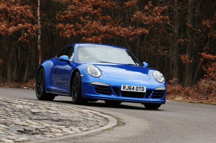 Porsche 911 Carrera GTS Coupe UK-spec (991) cars 2014 wallpaper