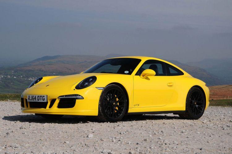 Porsche 911 Carrera 4 GTS Coupe UK-spec (991) cars 2014 wallpaper
