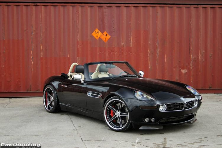 BMW Z8 G-Power cars black modified wallpaper