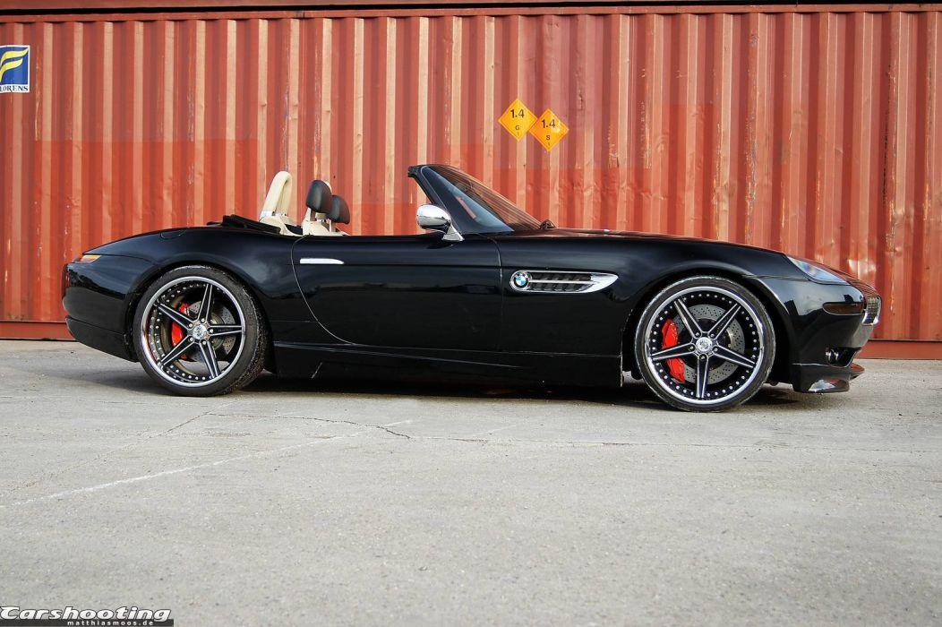 BMW Z8 G-Power cars black modified wallpaper