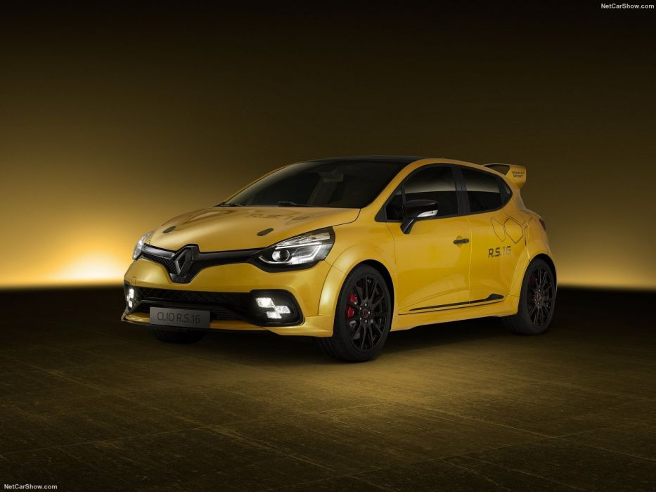 Renault Clio RS16 cars Concept 2016 wallpaper