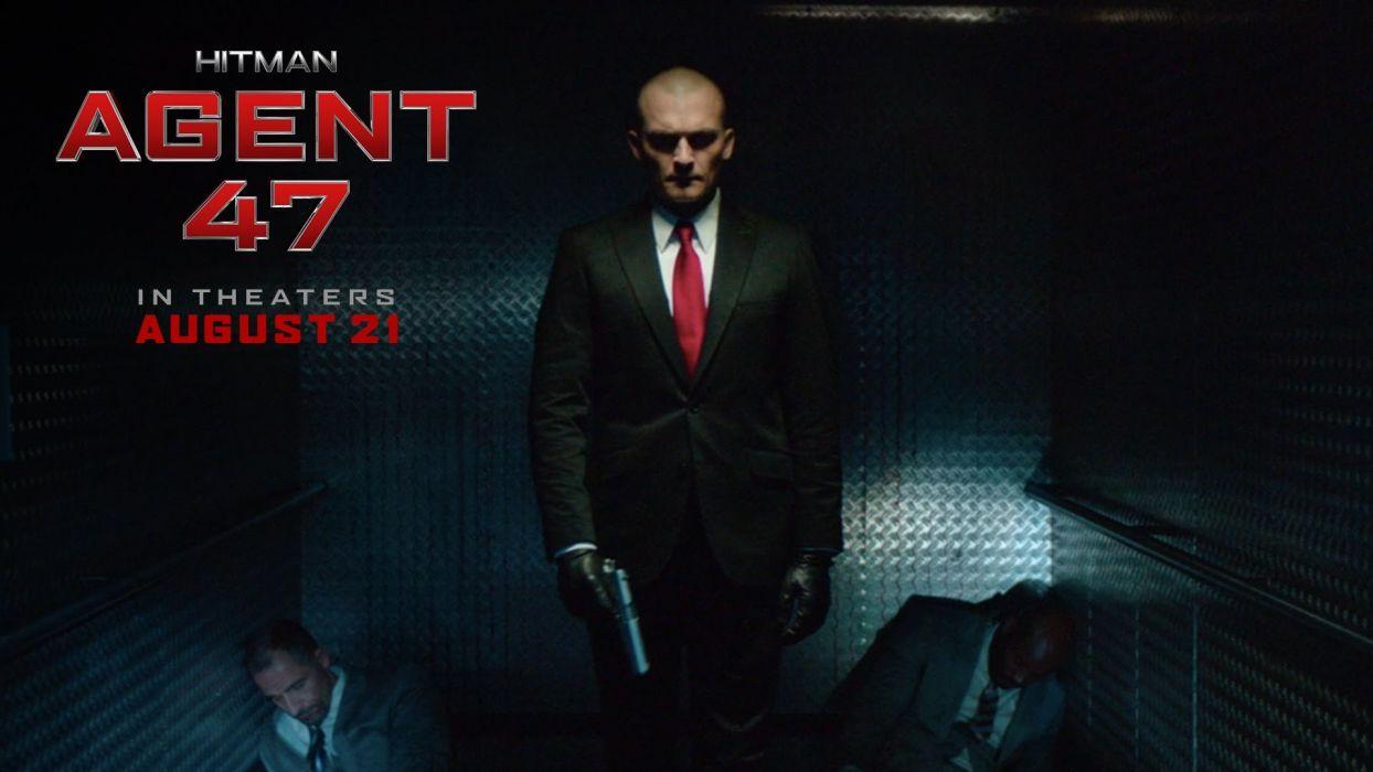 HITMAN assassin sniper warrior sci-fi action fighting stealth assassins spy poster wallpaper