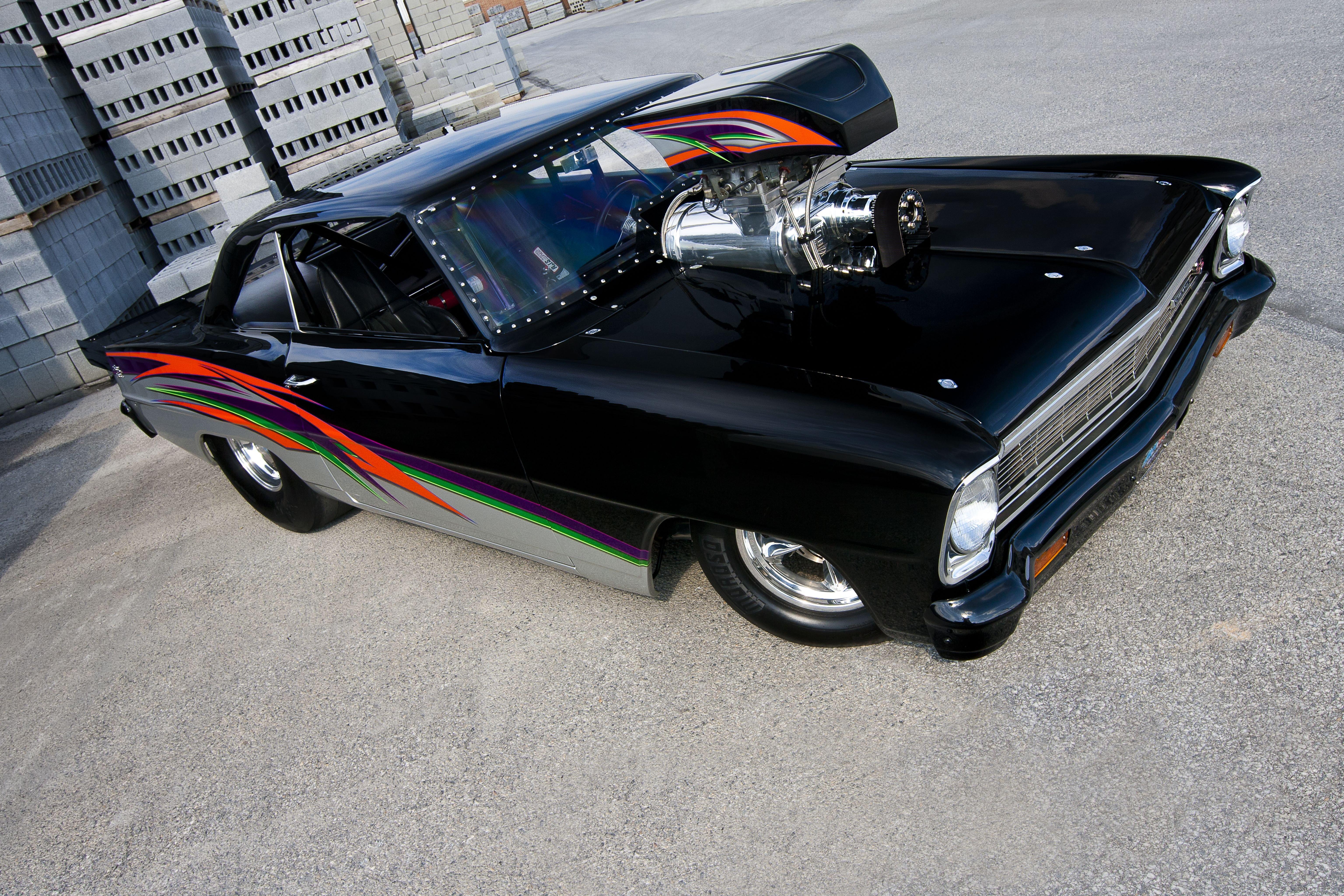 Car Colors 2017 >> 1966 Chevrolet Nova classic cars drag wallpaper | 6144x4096 | 965312 | WallpaperUP