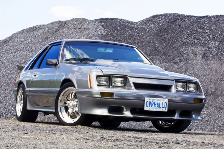 1984 Ford Mustang cars modified wallpaper