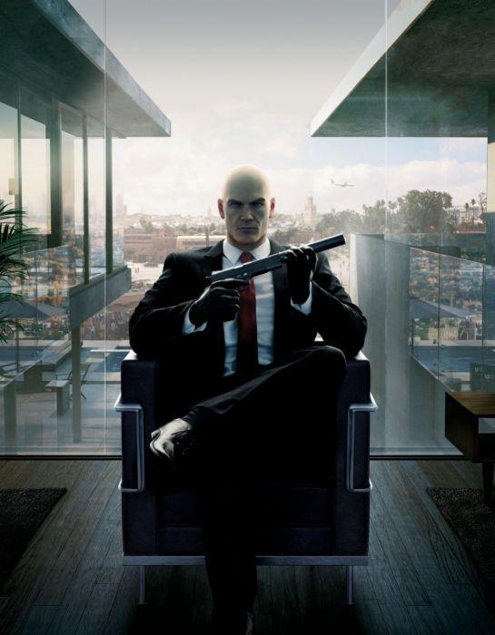 HITMAN assassin sniper warrior sci-fi action fighting stealth assassins spy wallpaper