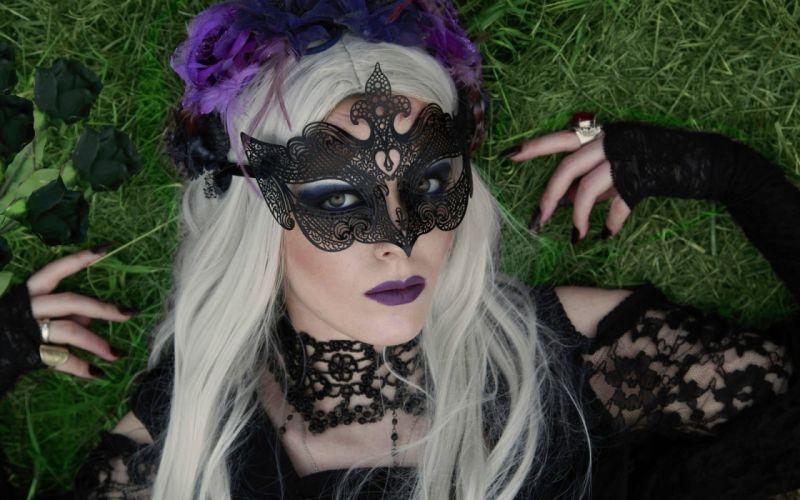 GOTHIC goth fantasy dark women women female girl girls original wallpaper
