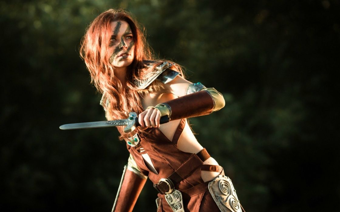 COSPLAY fetish girl girls female women woman costume sexy babe fantasy wallpaper