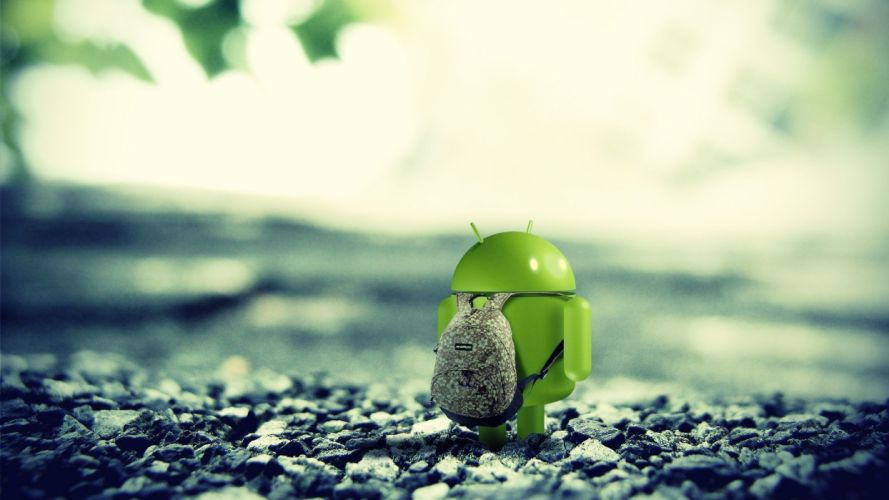 ANDROID ALONE wallpaper