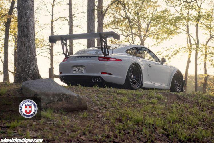 Porsche 991 Cup Cars HRE wheels wallpaper