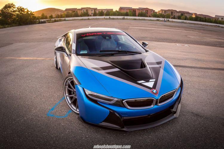 Vorsteiner BMW i8 Cars HRE wheels electric wallpaper