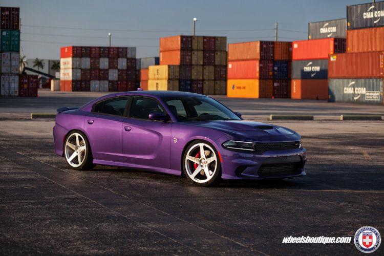 Dodge Charger SRT Hellcat Cars HRE wheels wallpaper