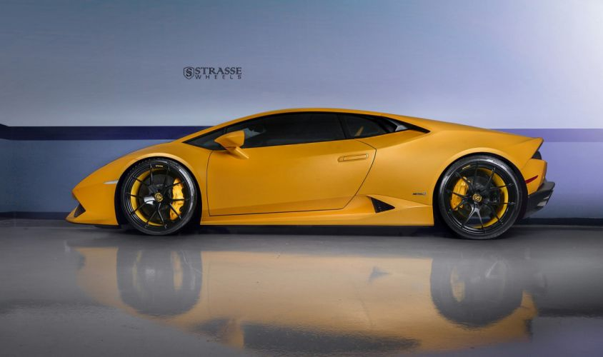 Strasse Wheels Lamborghini Huracan LP610 Cars wallpaper