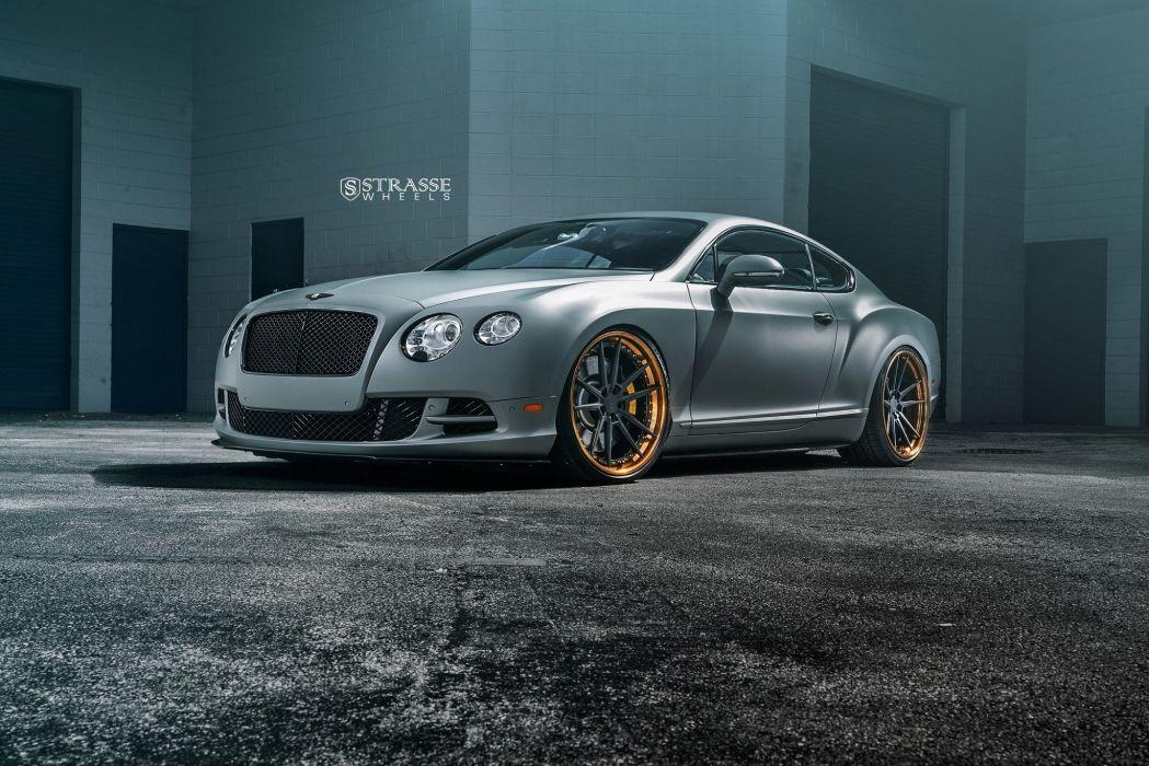Strasse Wheels Bentley Continental GT Cars wallpaper