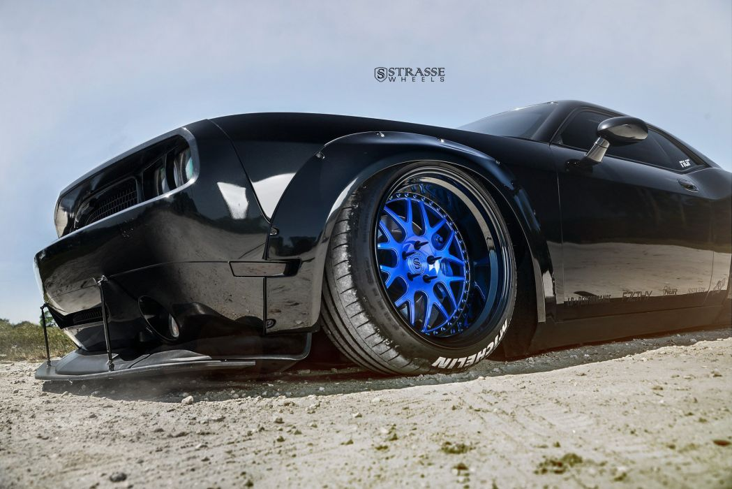 Strasse Wheels Liberty Walk Challenger dodge SRT Cars wallpaper