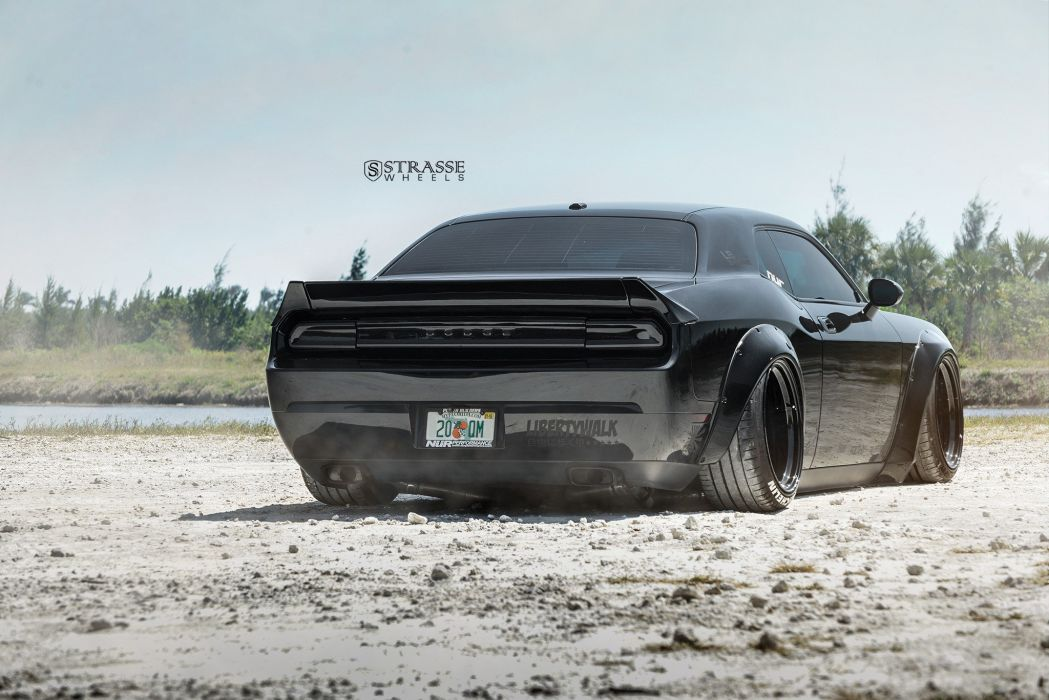 Strasse Wheels Liberty Walk Challenger dodge SRT Cars wallpaper