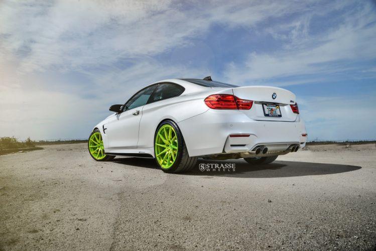 Strasse Wheels BMW M4 Cars wallpaper