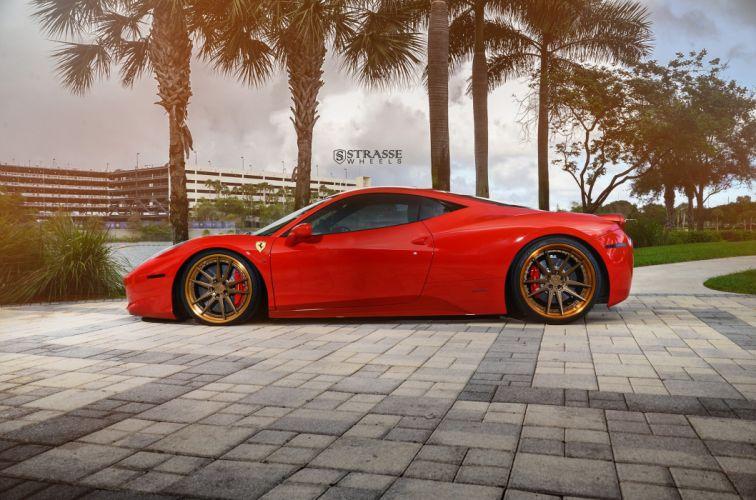 Strasse Wheels Ferrari 458 Italia Cars wallpaper
