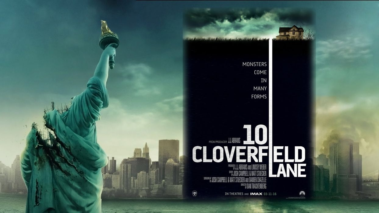 CLOVERFIELD drama horror mystery apocalyptic sci-fi fantasy 10lane alien aliens dark book wallpaper