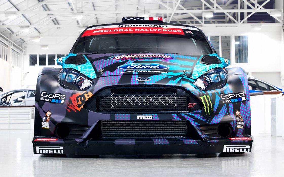 Sport Ford Global rallycross cars sportcars pirelli wallpaper
