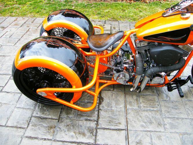 BOBBER motorbike tuning custom bike motorcycle hot rod rods chopper wallpaper