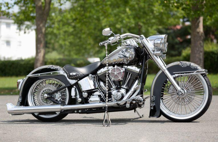Harley Davidson Heritage Softail Pipes