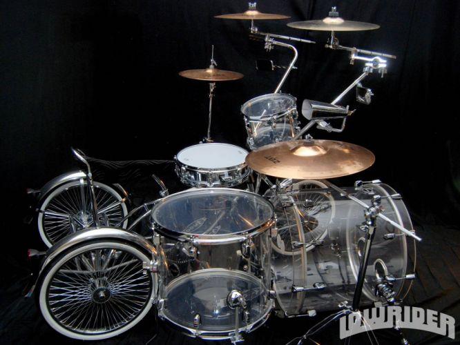 LOWRIDER motorbike tuning custom bike motorcycle hot rod rods chopper bicycle drums music wallpaper