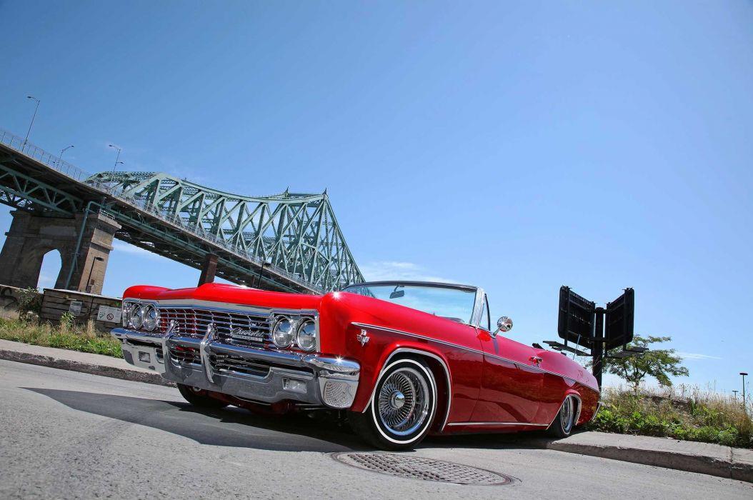 1966 chevrolet impala custom tuning hot rods rod gangsta lowrider wallpaper