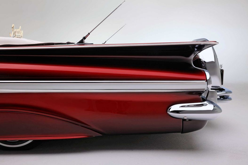1959 chevrolet impala convertible custom tuning hot rods rod gangsta lowrider wallpaper