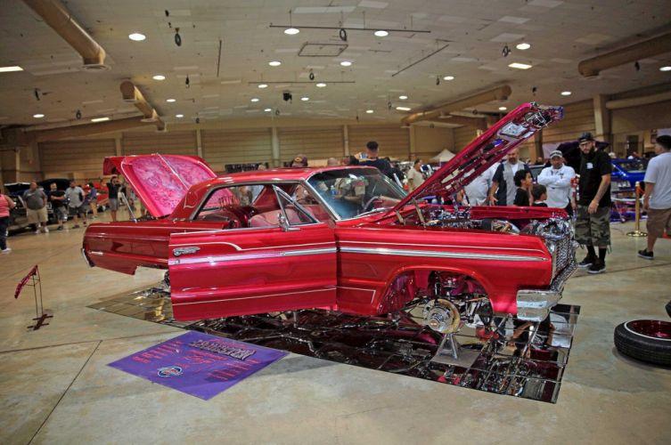 1964 cheverolet impala super sport custom tuning hot rods rod gangsta lowrider wallpaper