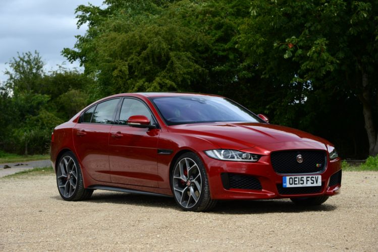 Jaguar XE S UK-spec cars sedan 2015 wallpaper