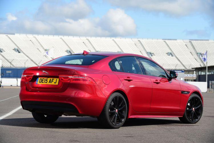 Jaguar XE 20t R-Sport UK-spec cars sedan 2015 wallpaper
