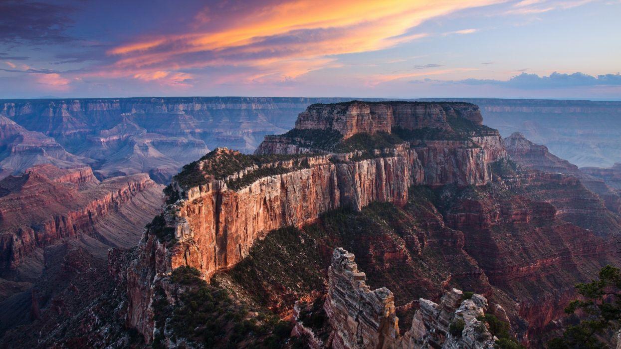 Grand Canyon mountain landscape wallpaper