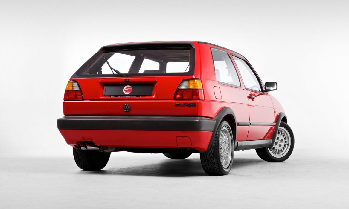 Volkswagen Golf GTI mk2 UK-spec cars 1989 wallpaper