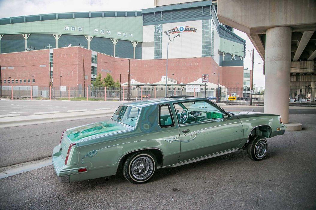 1987 oldsmobile cutlass custom tuning hot rods rod gangsta lowrider wallpaper