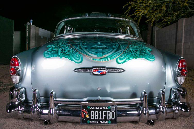 1953 chevrolet 210 custom tuning hot rods rod gangsta lowrider wallpaper
