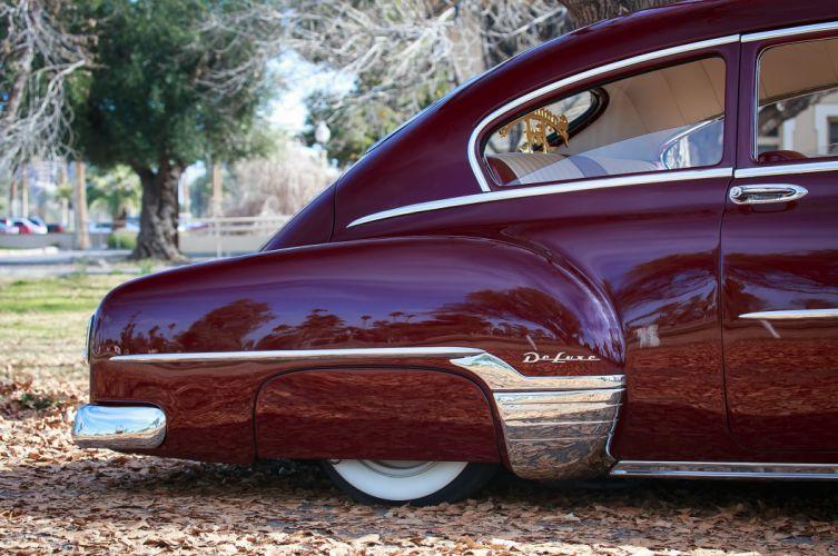 1952 chevrolet fleetline custom tuning hot rods rod gangsta lowrider wallpaper