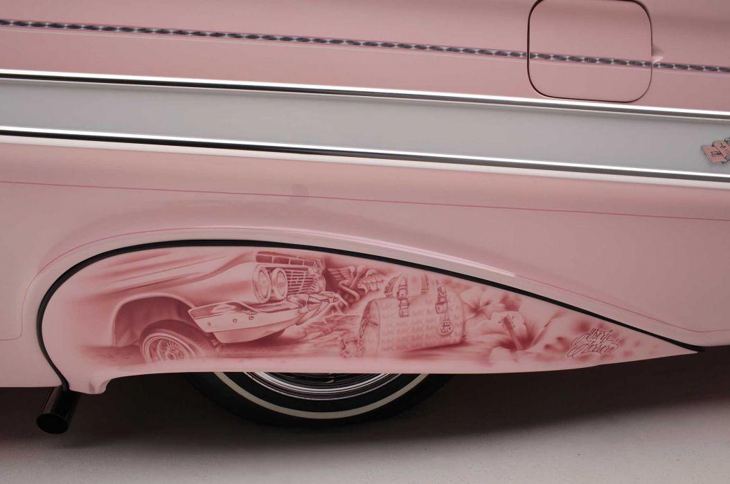 1961 chevrolet impala custom tuning hot rods rod gangsta lowrider wallpaper