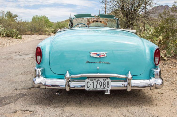 1954 chevrolet 235 convertible custom tuning hot rods rod gangsta lowrider wallpaper