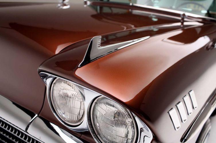 1958 Chevrolet Impala custom tuning hot rods rod gangsta lowrider wallpaper
