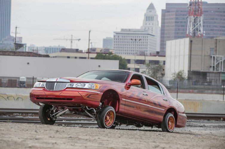 2000 LINCOLN TOWN CAR custom tuning hot rods rod gangsta lowrider wallpaper