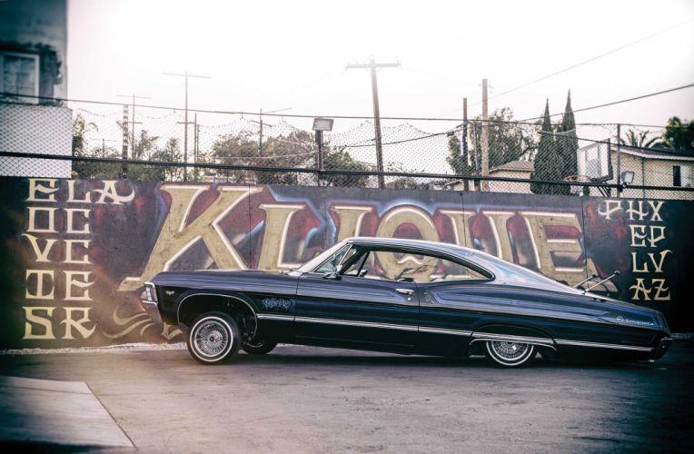 1967 CHEVROLET IMPALA custom tuning hot rods rod gangsta lowrider wallpaper