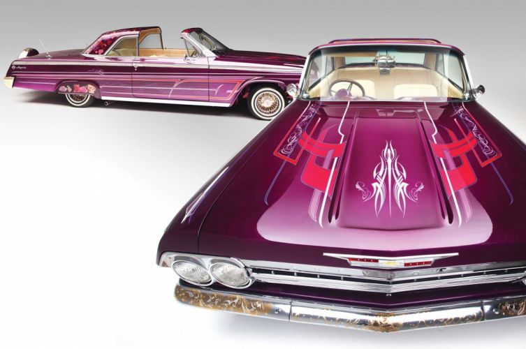 1962 CHEVROLET IMPALA SS custom tuning hot rods rod gangsta lowrider wallpaper