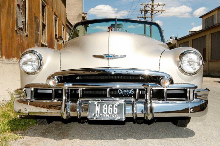 1949 CHEVROLET CONVERTIBLE custom tuning hot rods rod gangsta lowrider wallpaper