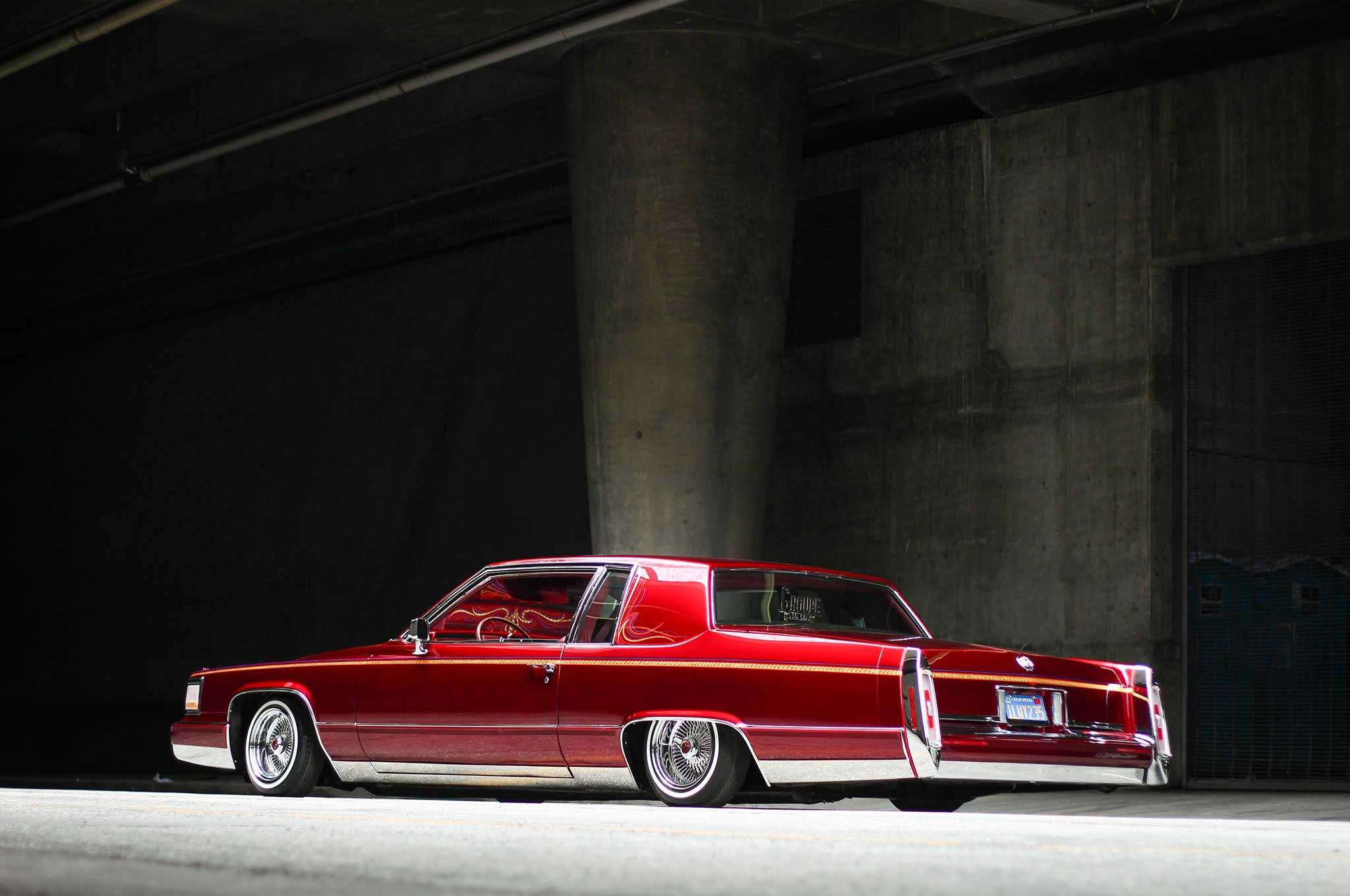 1983 Cadillac Coupe Deville Custom Tuning Hot Rods Rod