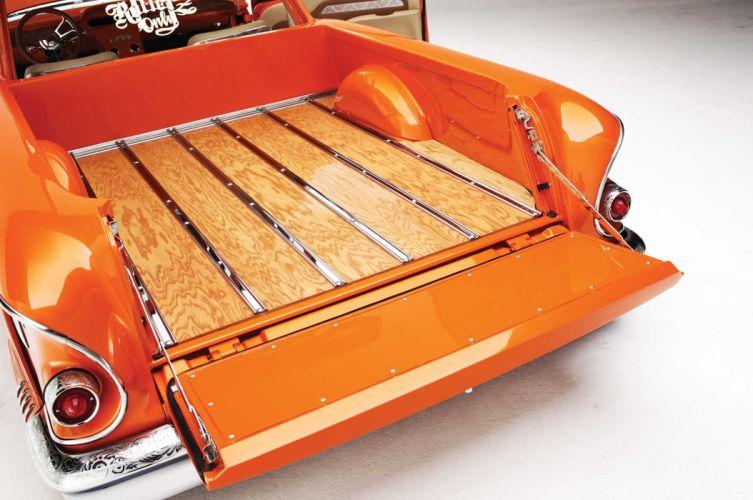 1958 CHEVROLET NOMAD custom tuning hot rods rod gangsta lowrider pickup truck wallpaper