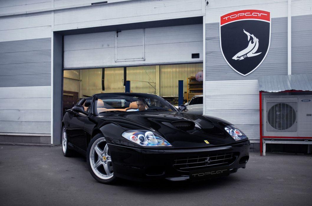 Ferrari 575 SuperAmerica 2005 cars wallpaper