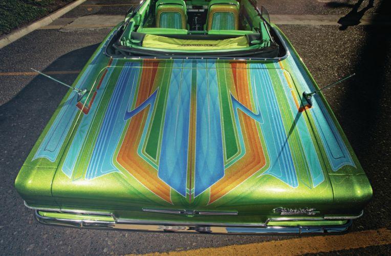1966 CHEVROLET IMPALA SUPER SPORT custom tuning hot rods rod gangsta lowrider wallpaper